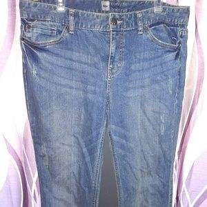 Curvy Fit Mossimo size 14L Boot Cut Jeans